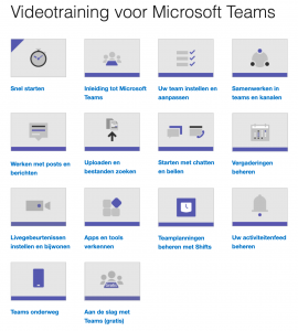 Videocursus Microsoft Teams