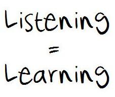 luisteren is leren